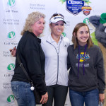 Fans got to meet and be photographed with LPGA Professional Natalie Gulbis at the Northern Indiana Golf Show.